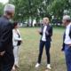Isabell Huber besuchte gemeinsam mit Staatssekretär Volker Schebesta das Albert-Schweitzer-Gymnasium in Neckarsulm und informierte sich dort auch über das Projekt Verbundschule Neckarsulm